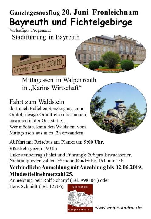 Bayreuth und Fichtelgebirge